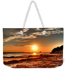 A Day Ends Over Charleston Weekender Tote Bag