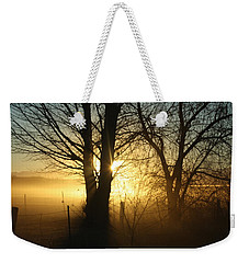 A Dusty Sunset Weekender Tote Bag