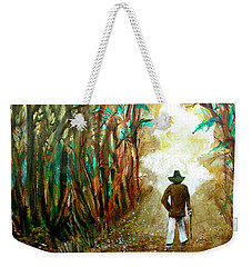 A Fall Walk In The Woods Weekender Tote Bag