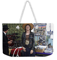 Weekender Tote Bag featuring the photograph A Good Laugh by Lorraine Devon Wilke