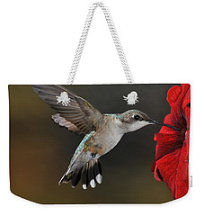 A Lady At Lunch Weekender Tote Bag