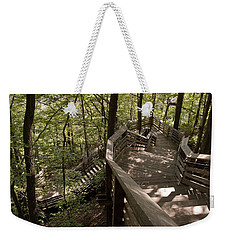 A Long Way Down Weekender Tote Bag by Jeannette Hunt