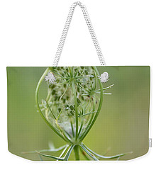 Weekender Tote Bag featuring the photograph A Meal Of Lace by JD Grimes