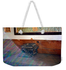 A Moon Shadow Weekender Tote Bag