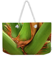 Weekender Tote Bag featuring the photograph A Palmetto's Elbows by JD Grimes