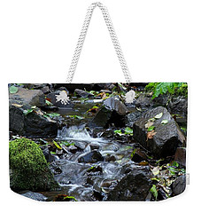 A Peaceful Stream Weekender Tote Bag by Chalet Roome-Rigdon