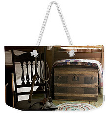 Weekender Tote Bag featuring the photograph A Simpler Life by Lynn Palmer
