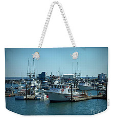 A Sunny Nautical Day Weekender Tote Bag
