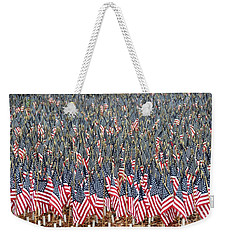 A Thousand Flags Weekender Tote Bag