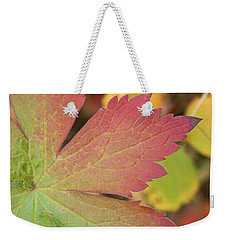 A Touch Of Fall Weekender Tote Bag