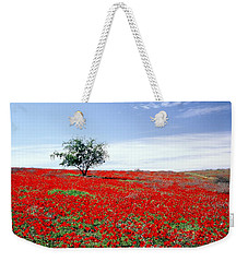 A Tree In A Red Sea Weekender Tote Bag