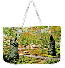 Abby Aldrich Rockefeller Garden Pathfinders Weekender Tote Bag by Lizi Beard-Ward