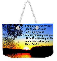 Abounding In Love Weekender Tote Bag