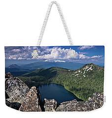 Above Castle Lake Weekender Tote Bag