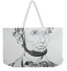 Abraham Lincoln Weekender Tote Bag by John Keaton