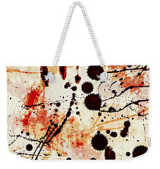 Abstract Grunge Background Weekender Tote Bag by Susan Leggett