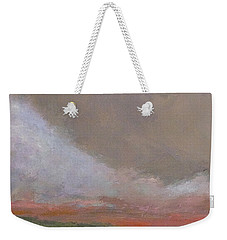 Abstract Landscape - Scarlet Light Weekender Tote Bag