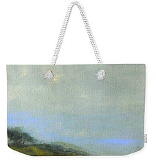 Abstract Landscape - Green Hillside Weekender Tote Bag