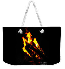 Abstract Phoenix Fire Weekender Tote Bag