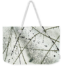 Abstract Remnants Of The Big Bang Weekender Tote Bag