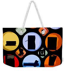 Abstract Stuff Weekender Tote Bag