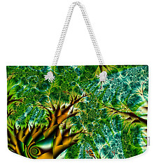 Abstract Trees Weekender Tote Bag