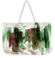 Abstract Watercolor 51 Weekender Tote Bag