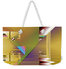 Abstract Waters Weekender Tote Bag