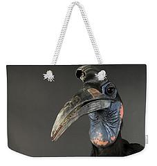Abyssinian Ground Hornbill Bucorvus Weekender Tote Bag