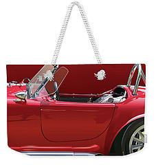 Ac Cobra Detail Weekender Tote Bag