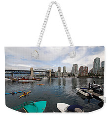 Across False Creek Weekender Tote Bag by John Schneider