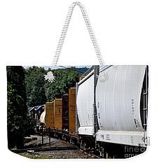 Across The Diamond Weekender Tote Bag