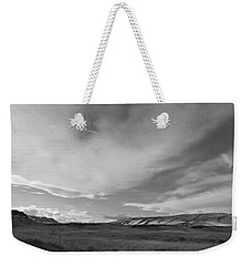 Weekender Tote Bag featuring the photograph Across The Valley by Kathleen Grace