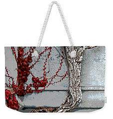 Weekender Tote Bag featuring the photograph Adare Ivy by Charlie and Norma Brock