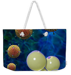 Adenovirus 36 And Fat Cells Weekender Tote Bag