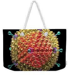 Adenovirus 36 Weekender Tote Bag by Russell Kightley