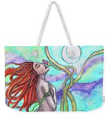Adira The Mermaid Weekender Tote Bag