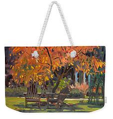 Adirondack Chairs Weekender Tote Bag