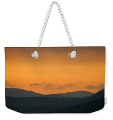 Weekender Tote Bag featuring the photograph Adirondacks by Steven Richman