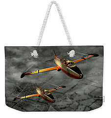 Aermacchi In Flight Weekender Tote Bag