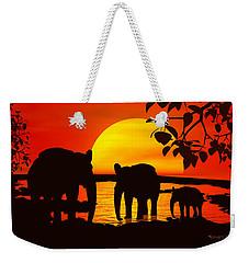 Africa Weekender Tote Bag