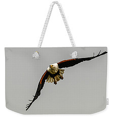 African Fish Eagle Weekender Tote Bag