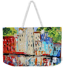 After Hours-reflection Weekender Tote Bag