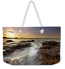 Weekender Tote Bag featuring the photograph Afternoon Tide by Beverly Cash