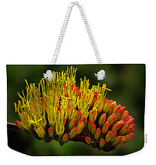 Agave Bloom Weekender Tote Bag by Vicki Pelham
