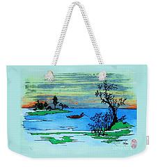 Aizu Marsh Weekender Tote Bag by Roberto Prusso
