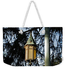 Weekender Tote Bag featuring the photograph Akers Night by Joseph Yarbrough