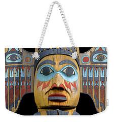 Alaska Totem Weekender Tote Bag