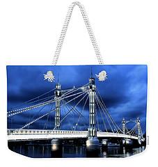 Albert Bridge London Weekender Tote Bag