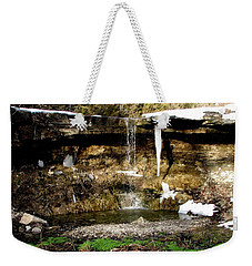 Alcove Spring And Waterfall Weekender Tote Bag